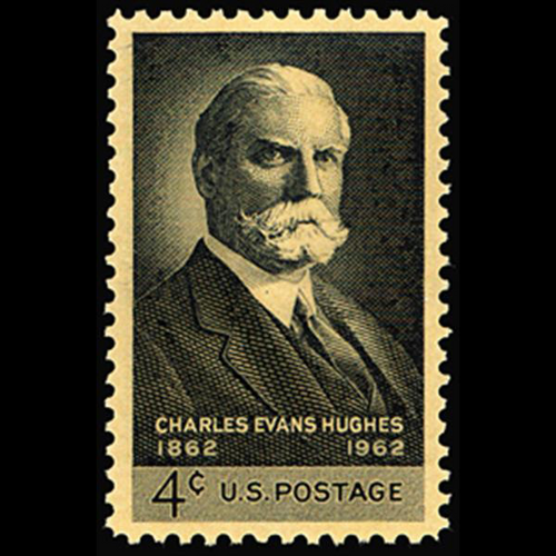 1962 4c Charles Evans Hughes Mint Single