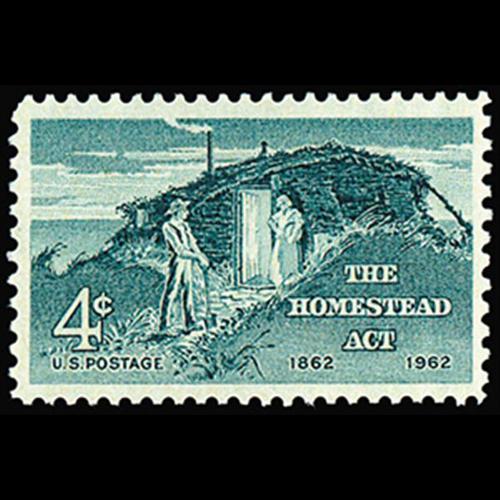 1962 4c Homestead Act Mint Single
