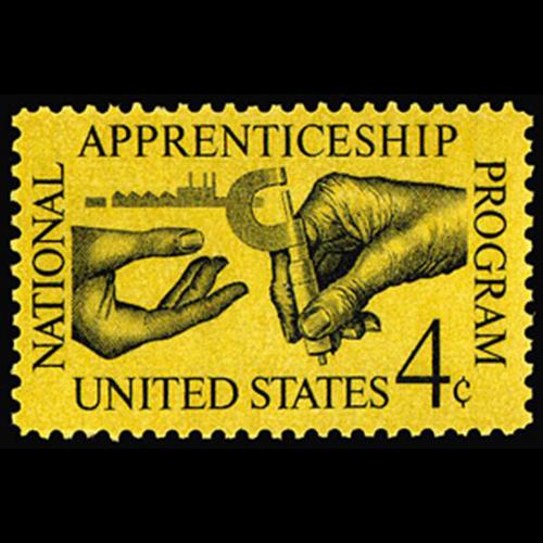1962 4c Apprenticeship Mint Single
