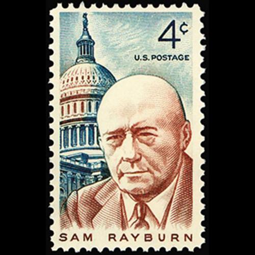 1962 4c Sam Rayburn Mint Single