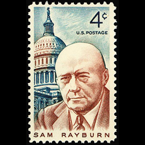 1962 4c Sam Rayburn Mint Single
