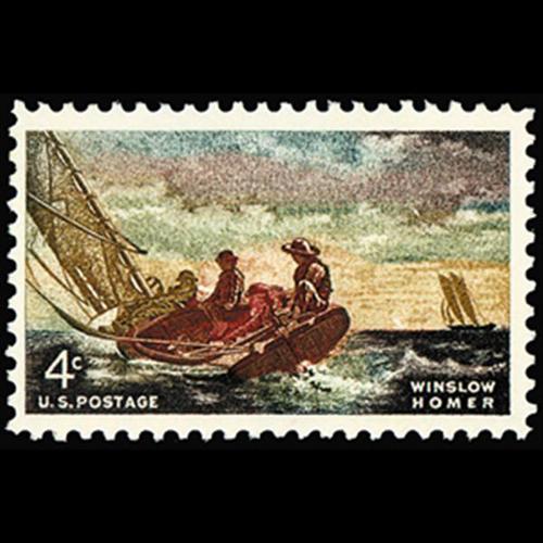 1962 4c Winslow Homer Mint Single