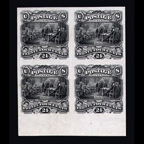 1869 24c Pictorial Plate Essay