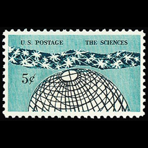 1963 5c The Sciences Mint Single