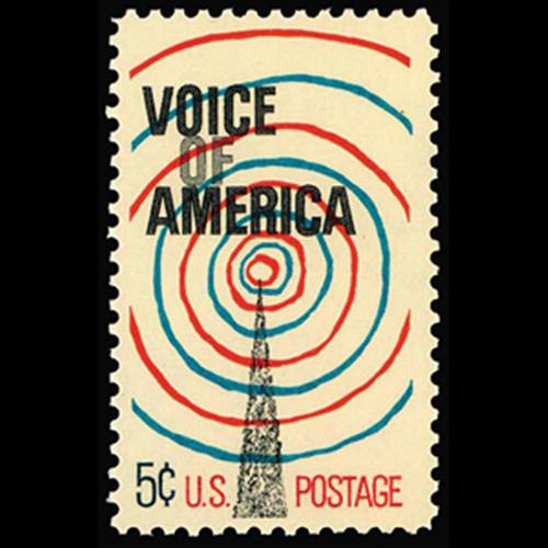 1967 5c Voice of America Mint Single