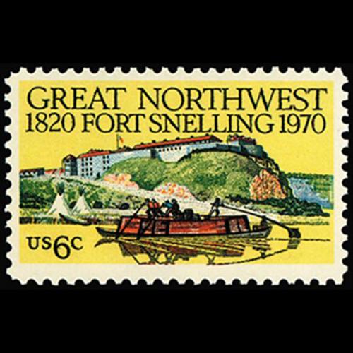 1970 6c Fort Snelling Mint Single