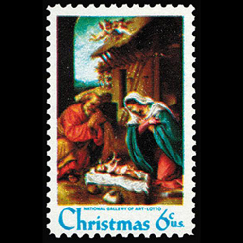 1970 6c Nativity Mint Single