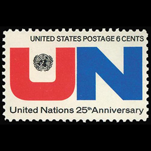 1970 6c U.N. 25th Anniversary Mint Single