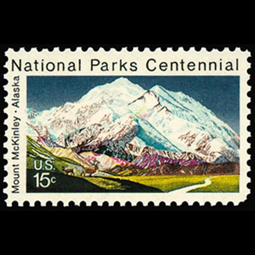 1972 15c Mount McKinley Mint Single