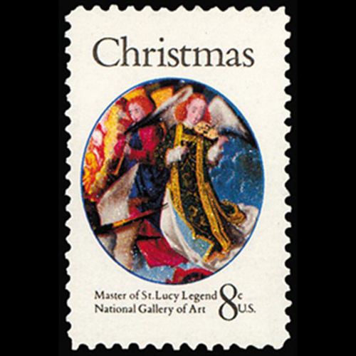 1972 8c Christmas-Virgin Mother Mint Single