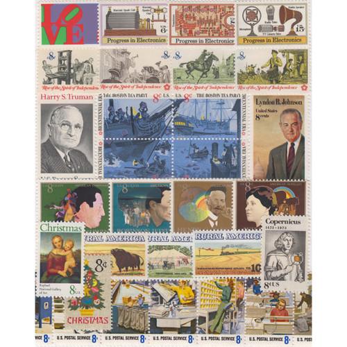 1973 Commemorative Mint Year Set