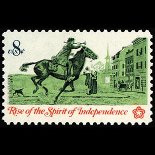 1973 8c Colonial Post Rider Mint Single