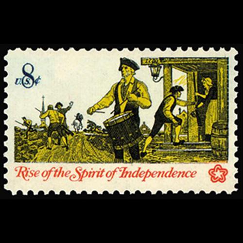 1973 8c Drummer & Soldiers Mint Single
