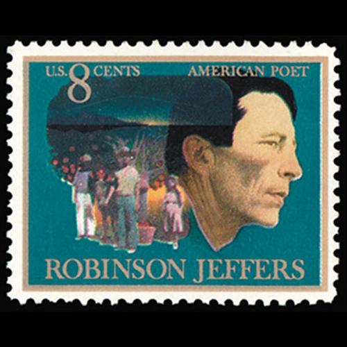1973 8c Robinson Jeffers-Poet Mint Single