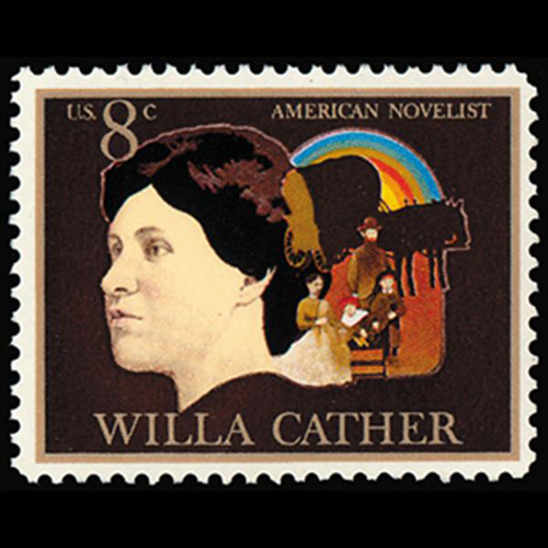 1973 8c Willa Cather-Novelist Mint Single
