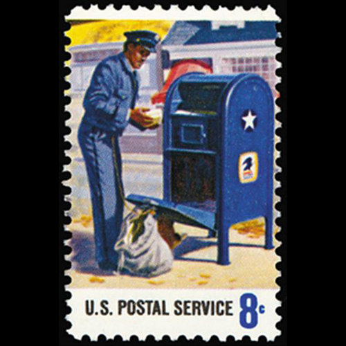 1973 8c Mail Pickup Mint Single
