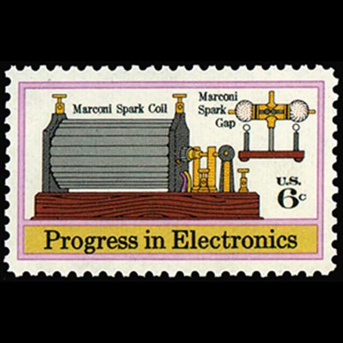 1973 6c Electronics Mint Single