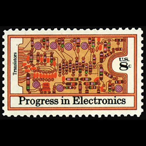 1973 8c Electronics Mint Single