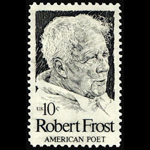 1974 10c Robert Frost Mint Single