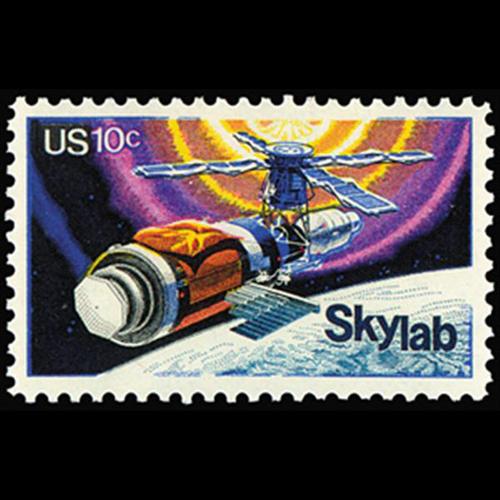 1974 10c Skylab Project Mint Single