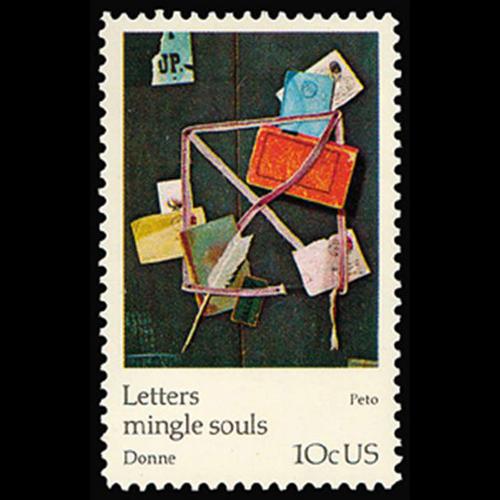 1974 10c J.F. Peto Mint Single