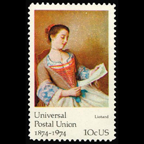 1974 10c J.E. Liotard Mint Single