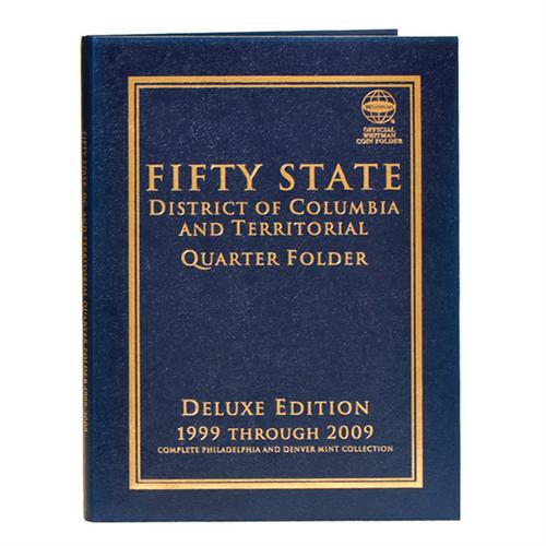 Fifty State plus D.C. & Territories Commemorative Quarter Folder