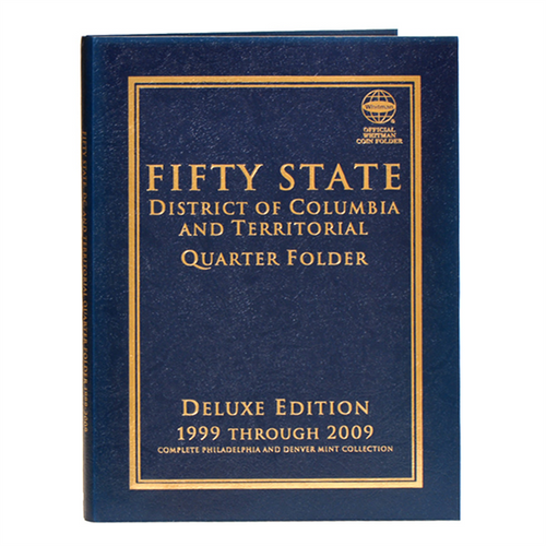 Fifty State plus D.C. & Territories Commemorative Quarter Folder