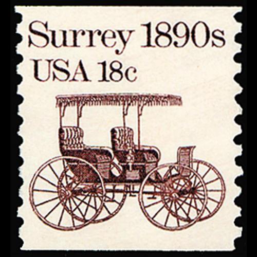 1981 18c Surrey Mint Single