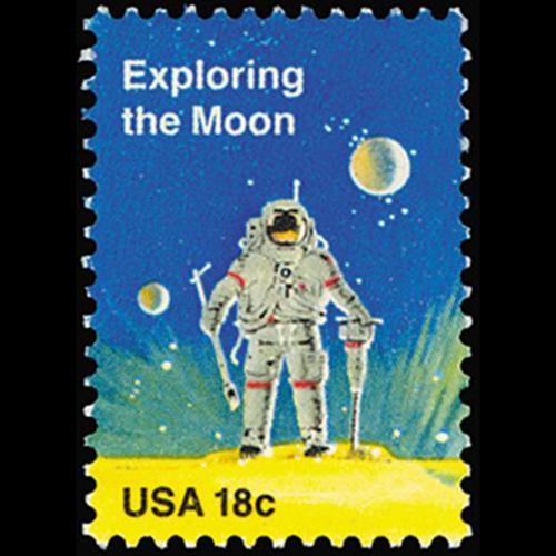 1981 18c Exploring the Moon Mint Single