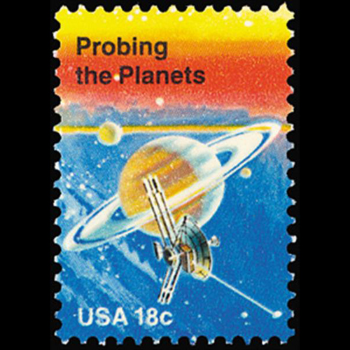 1981 18c Probing the Planets Mint Single