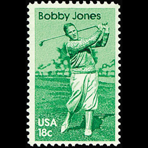 1981 18c Bobby Jones Mint Single