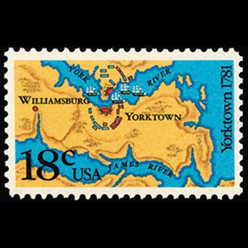 1981 18c Yorktown Mint Single