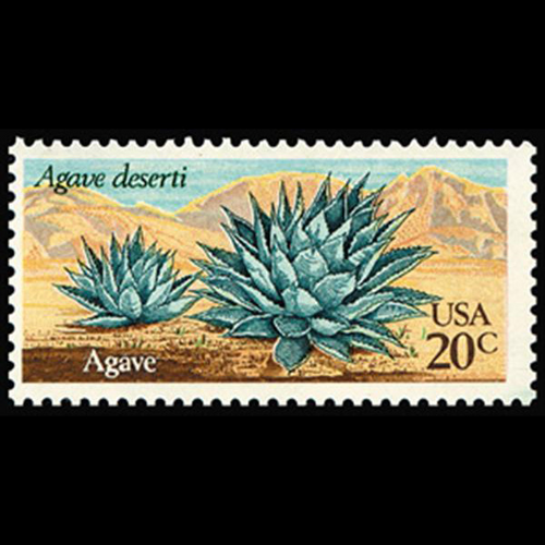 1981 20c Agave Mint Single