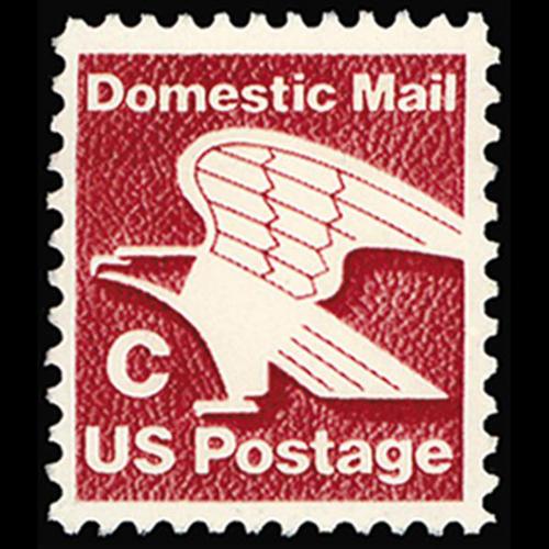 "1981 20c ""C"" Eagle Mint Single"