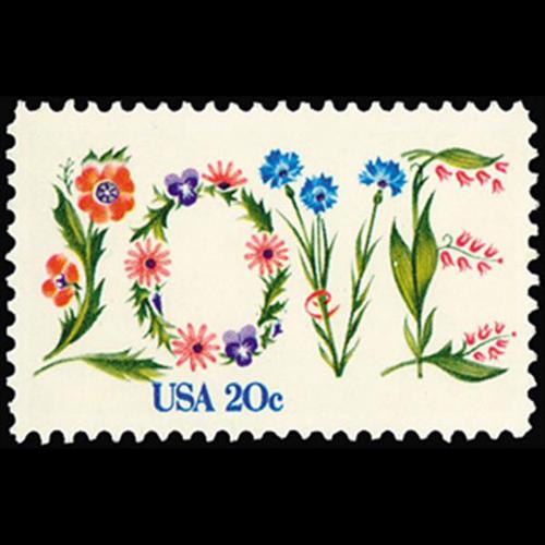 1982 20c LOVE Mint Single