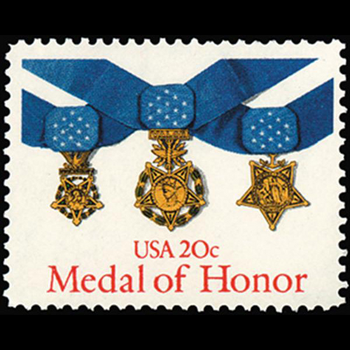 1983 20c Medal of Honor Mint Single