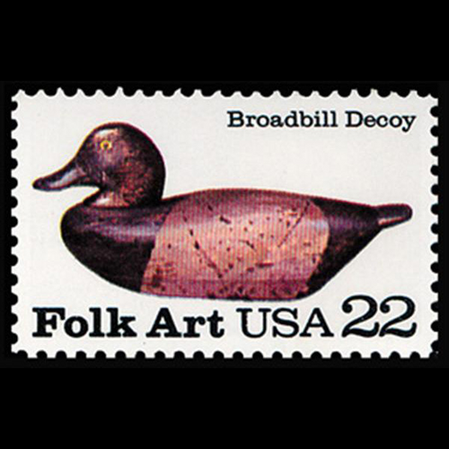 1985 22c Broadbill Mint Single