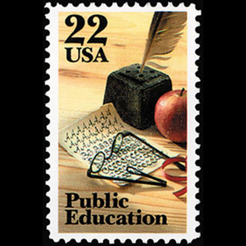 1985 22c Public Education Mint Single