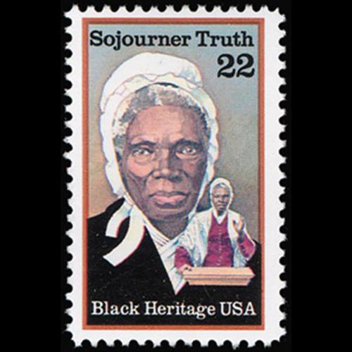 1986 22c Sojourmer Truth Mint Single