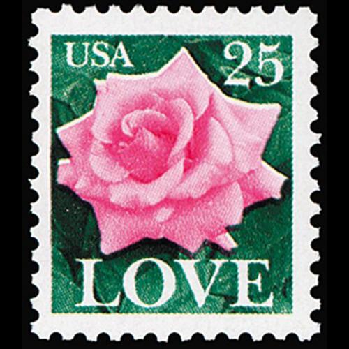1988 25c Love Mint Single