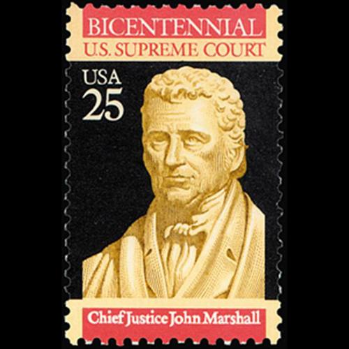 1989 25c U.S. Supreme Court Mint Single