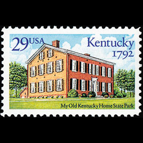 1992 29c Kentucky Statehood Mint Single