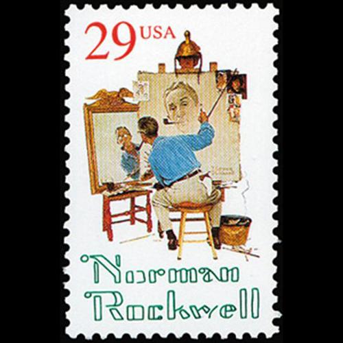 1994 29c Norman Rockwell Mint Single