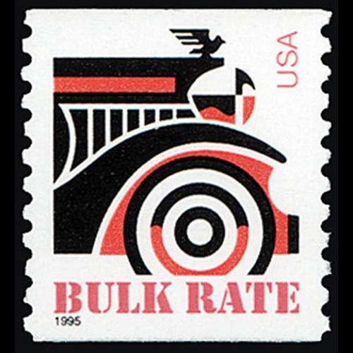 1995 10c Automobile Mint Single