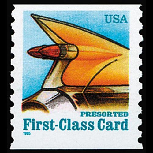 1995 15c Auto Tail Fin Mint Single