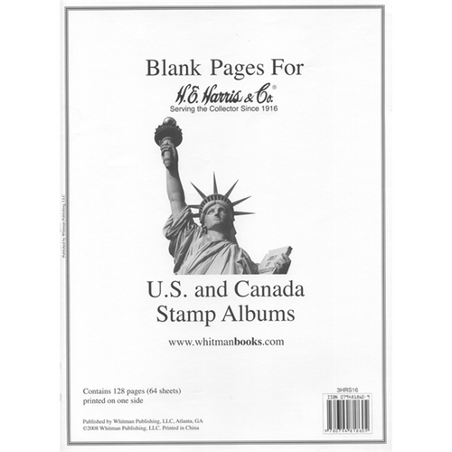 Pages, US/UN/Canada Blank