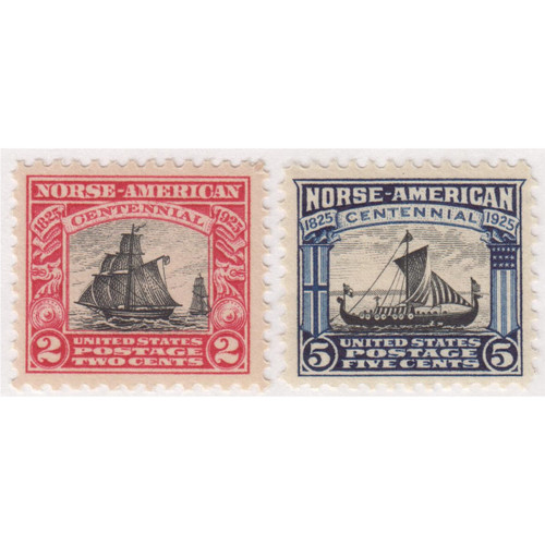 1925 Norse American Issue, Mint