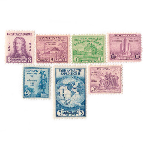 1933 Commemorative Mint Year Set
