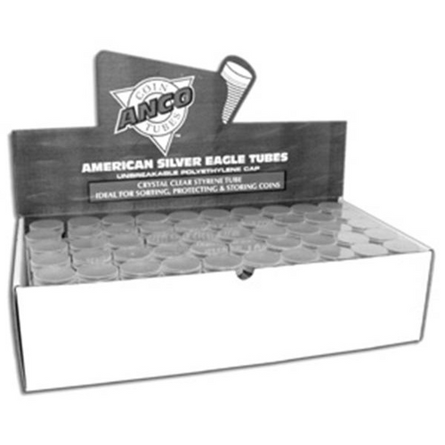 American Silver Eagle Coin Tubes (100 Count)